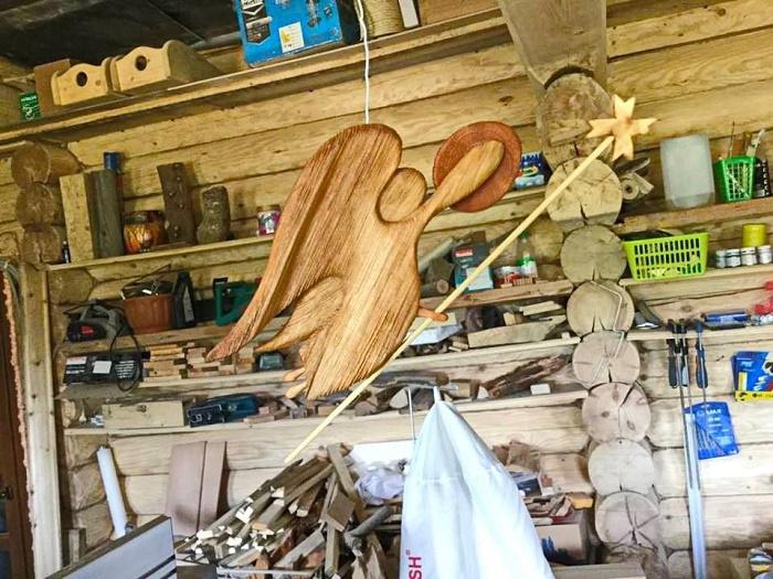 In the workshop of Nikolay Shiroky