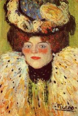 Pablo Picasso. Woman's head. 1901