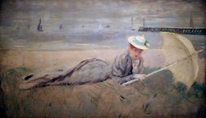 Paul César Elle 'On the beach'. 1902-1904