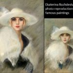 Ekaterina Rozhdestvenskaya photo reproductions of paintings
