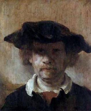 Rembrandt Harmens van Rijn 'Self-portrait'. 1650