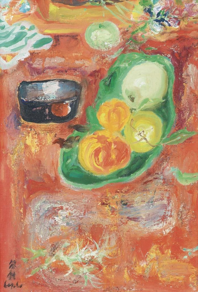 Spring fruits. 55 x 38 cm
