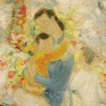 Tenderness. 104.8 x 77.5 cm
