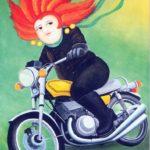 A biker