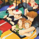 Bumper Cars Thrill Ride