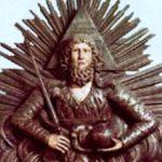 Savaof (God of War). XIX century. D.T. Domnin, the village of Nizhnechusovsky Gorodki
