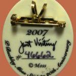 Signed brooch