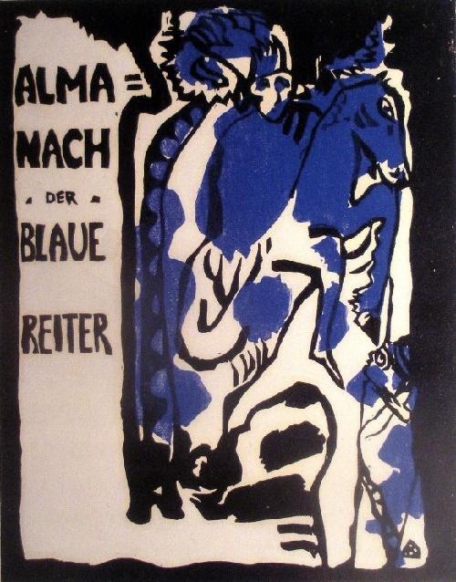 Wassily Kandinsky. Blue Rider Impressionist artists 1911-1914. Almanac cover